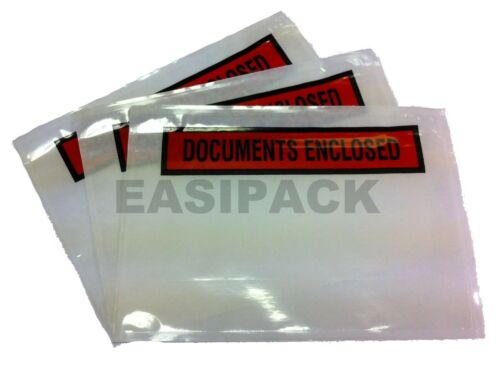 imprimé 5000 Document Enclosed Envelopes Wallets-A6 Taille
