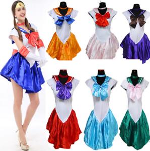 Karneval Sailor Moon Mars Sailormoon Kostüm Ausgefallene Kleid