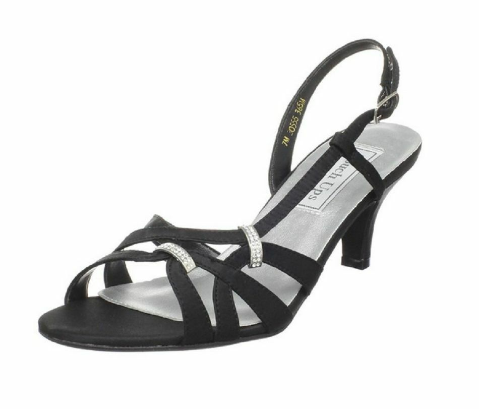 Touch Ups Women's Donetta Leather Slingback Sandal Heel Size 7.5 M US