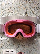 S ALPINA Kinder Skibrille  Ruby S Singleflex  blau  matt Gr