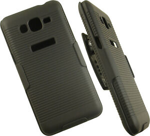 BLACK-RIBBED-HARD-CASE-BELT-CLIP-HOLSTER-STAND-FOR-SAMSUNG-GALAXY-GRAND-PRIME