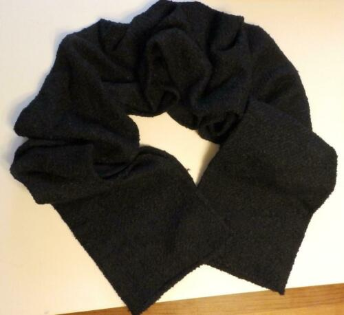 Donna Karan New York Maxi Blanket Scarf Wrap Black