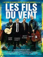 Affiche 40x60cm LES FILS DU VENT 2012 Angelo Debarre, Ninine Garcia, Moreno NEUV