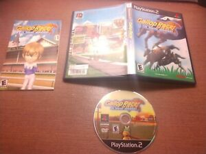 Sony PlayStation 2 PS2 CIB Complete Tested Gallop Racer 2003 A New Breed Ships