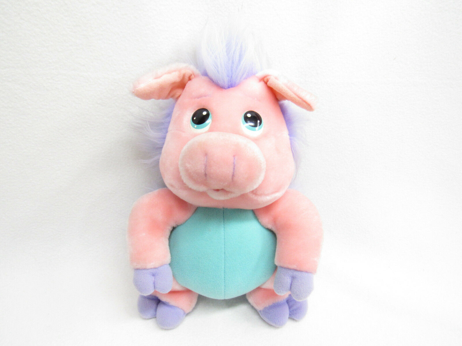 VINTAGE HASBRO SOFTIES WUZZLES Rosa PIG/PORCUPINE PLUSH WINGS