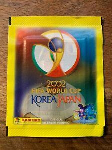 PANINI KOREA JAPAN 2002 WORLD CUP WC 02 SEALED CANADIAN PACKET ROOKIE IRELAND ??