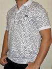 HUGO BOSS polo shirt striped size M,L,XL,XXL slim fit. white BNWT