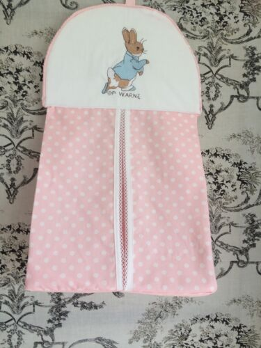 Peter Rabbit Nappy Stacker In Pink