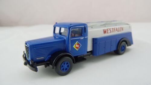 Wiking h0 088351 camión cisterna Büssing 8000 Westfalia autodrom colección nuevo embalaje original