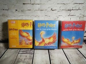 Harry-Potter-amp-The-Order-Of-The-Phoenix-22-Cassettes-Audio-Read-By-Stephen-Fry