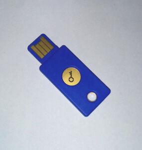 1x-Yubico-YubiKey-FIDO-U2F-2FA-MFA-USB-Security-Key
