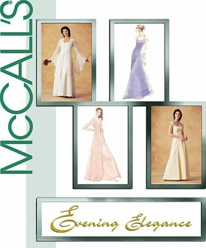 2003 Evening Elegance Lined Dress Coat Pattern Choice 8-22 McCall/'s 4020 OOP