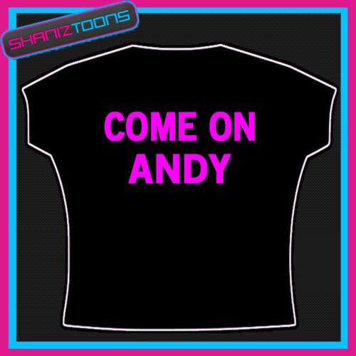 COME ON ANDY MURRAY TENNIS SLOGAN TSHIRT
