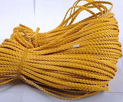 2M 100M Man-Made Leather Braid Rope Hemp Cord For Jewelry Making DIY Bracelets