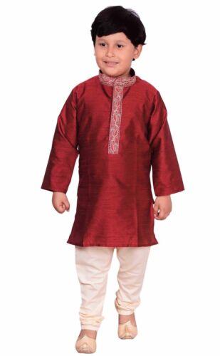 Jungen Pakistaner Kinder Sherwani Kurta mit Pajama für Eid & bollywood-thema 910