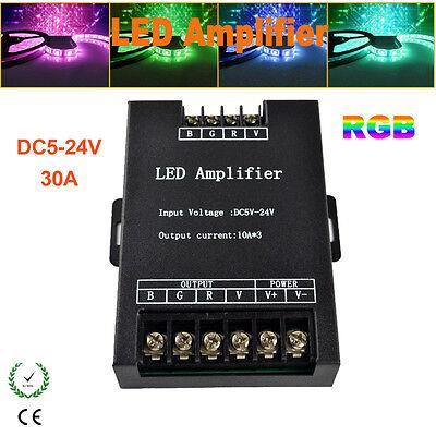DC 5V-24V 30A RGB LED Amplifier Controller for 3528 5050 RGB Strip Light
