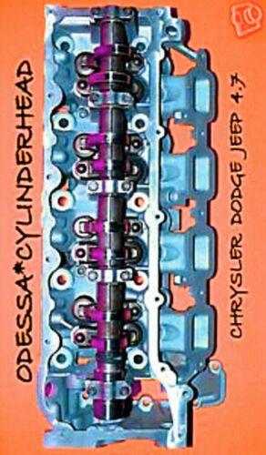 CHRYSLER DODGE JEEP CHEROKEE DAKOTA 4.7 SOHC CYLINDER HEAD RIGHT no core