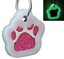 Glitter-Paw-Print-Pet-ID-Tags-Custom-Engraved-Dog-Cat-Tag-Personalized thumbnail 21