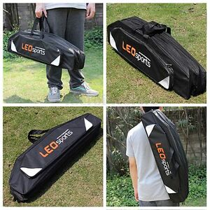 Rod-And-Reel-Holdall-Storage-Case-Carry-Bag-3-Pockets-Carp-Coarse-Fishing-Tackle