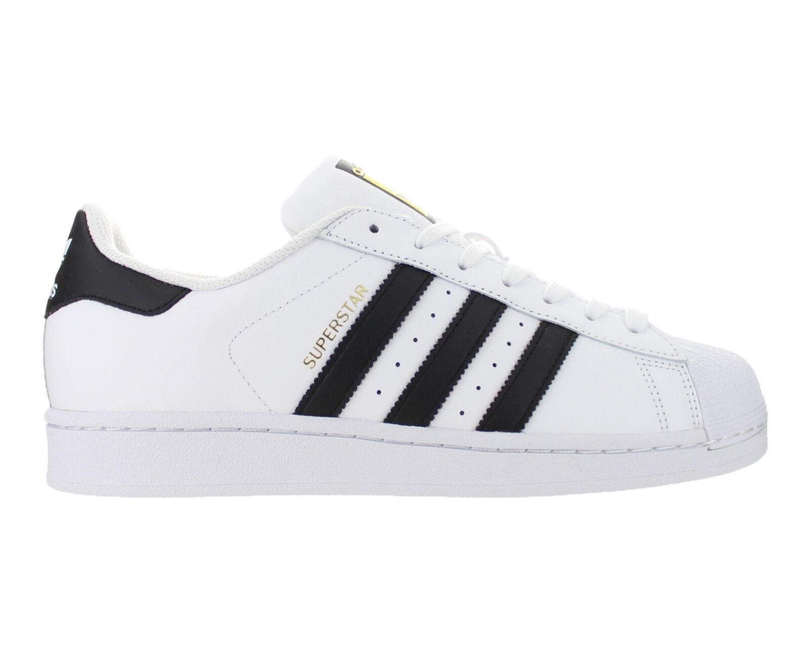 Mens Adidas Superstar Adidas Originals bianca nero nero nero C77124 e8216c