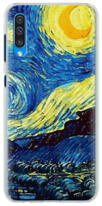 Details about Van Gogh Starry Night soft case cover for iPhone 12 11 Pro Max 8 Samsung S20 A71
