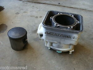 95 SEA DOO JET SKI SPI SEADOO 587 93 94 SP? ENGINE CYLINDER JUG BARREL R L BLOCK