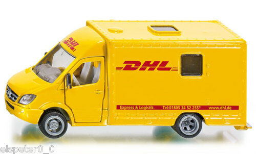 Art Siku Super 1:50 1936 Mercedes Sprinter Voiture De Poste