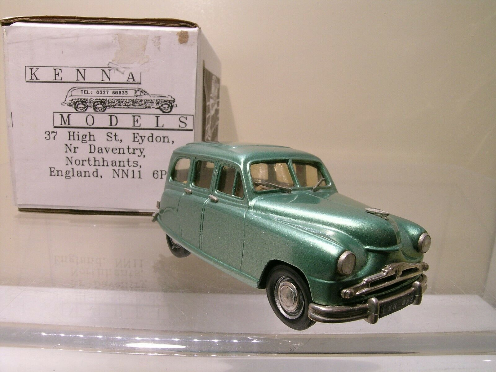 KENNA modelloS STeARD VANGUARD ESTATE PHASE 2  METtuttiIC verde 1953  scatola 1 43