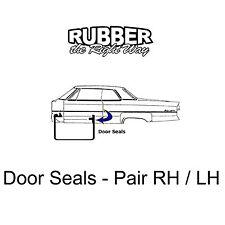 1967 1968 Cadillac Door Seals - 2 Door HT & Convertible