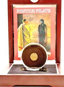 Pontius-Pilate-Judean-Bronze-Prutah-Coin-In-Wood-Box-With-Story-and-Certificate