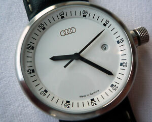 Audi-Classic-Line-Racing-Sport-Car-Accessory-Swiss-Movt-Made-in-Germany-Watch