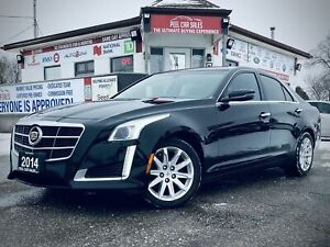 2014 Cadillac CTS 2.0L Turbo AWD|CERTIFIED |AWD|LEATHER| NO ACCIDENT