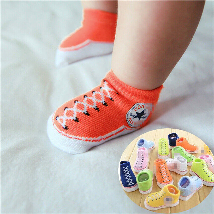 Breathable Walk Socks Shoes for Infant Girls Boys Moto/&DonDon Baby Toddler Sock Shoes Non-Skid Slipper with Soft Soles