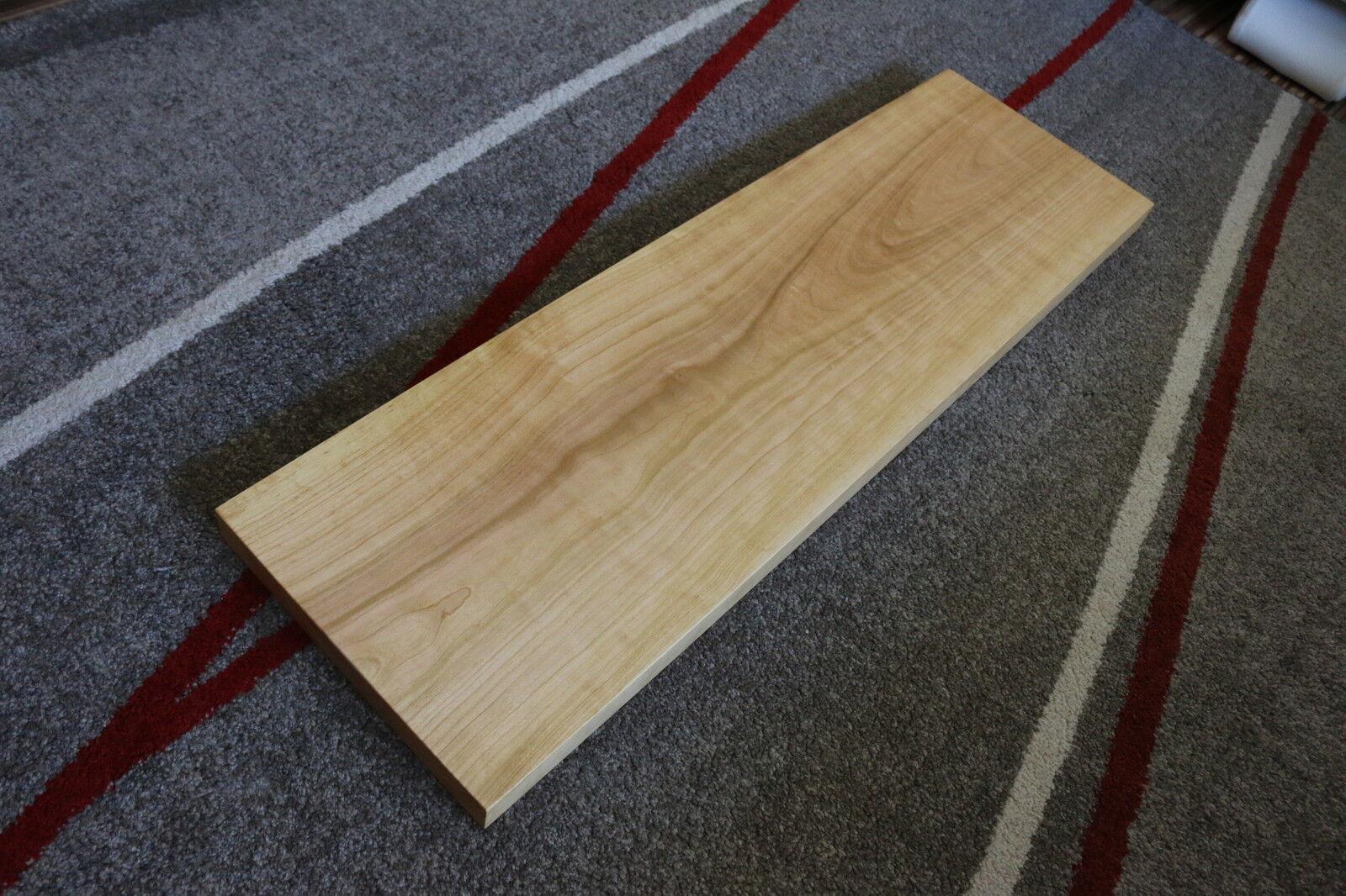 Platte Kirschbaum Massiv Holz Board Regal Brett Regalbrett
