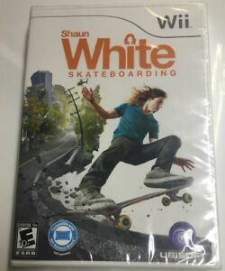 10 x WII SHAUN WHITE SKATEBOARDING GAMES BRAND NEW IN SEALED PACKAGES