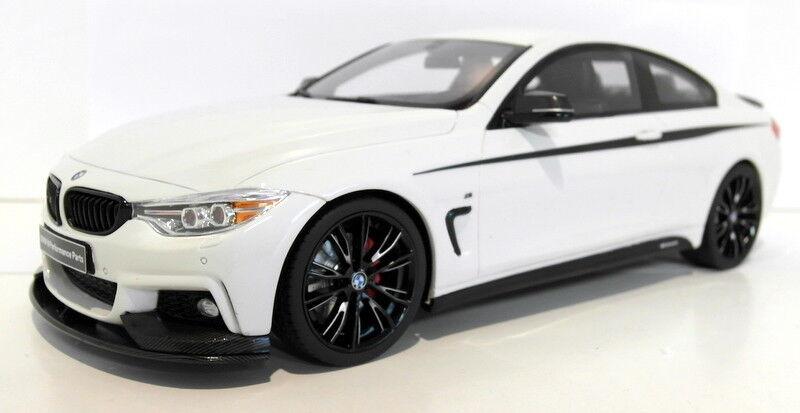 venta con alto descuento GT Spirit 1 1 1 18 Escala Resina GT710 BMW 435i M Performance blancoo Negro  autorización oficial