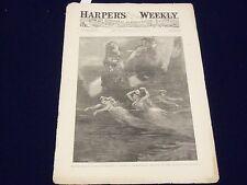 1889 JANUARY 26 HARPER'S WEEKLY MAGAZINE - WAGNER'S DAS RHEINGOLD - J 948