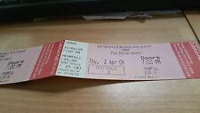 LEMAR 2009 unused concert ticket