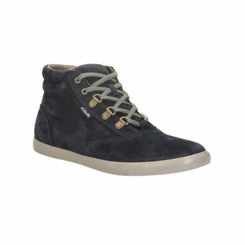 Clarks Men's Torbay Peak Hi-Top Navy Lace Up Boots UK Size 6.5 G
