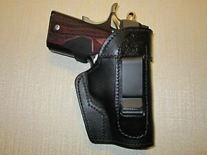 KIMBER ULTRA CARRY II & COLT DEFENDER IWB leather holster ...
