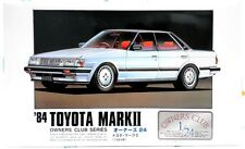 MicroAce(Arii)  1/24 '1984  Toyota Mark 2  model  kits.