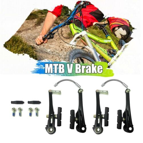 V Brake Bike Bicycle Mtb Blocks Pads Shoes Cycle Front And Rear Brakes 2pc Z0V9