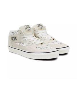 88d6f1d0c7 Vans Half Cab Peanuts Snoopy Family Marshmallow Men s Skate Shoes ...