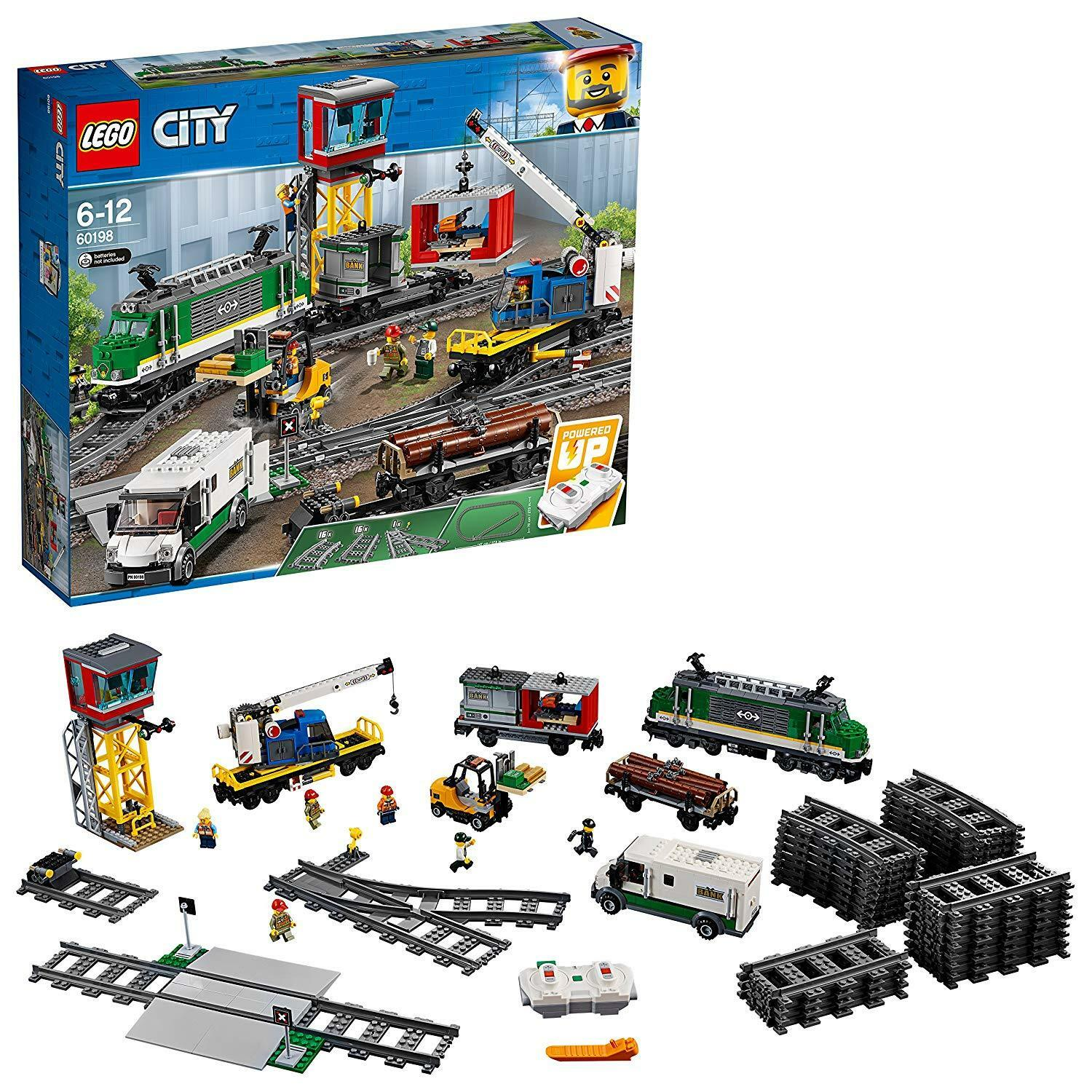 Lego City 60198 - Treno delle merci - New and sealed