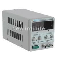 Variable Regulated Dc Power Supply Output 30v 10a Dual Display Us Local Ship Ups