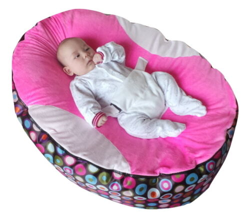 UK Seller Extra Large Baby Bean Bag with 2 Removable covers /& Safety Harness