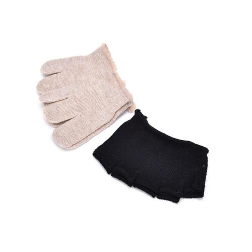 1 Paare Yoga Pilates Sportsocken Halb Zehen Knöchel Grip Fünf Finger D*