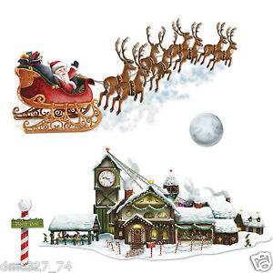 Christmas Winter Party Decoration Santa 39 S Sleigh