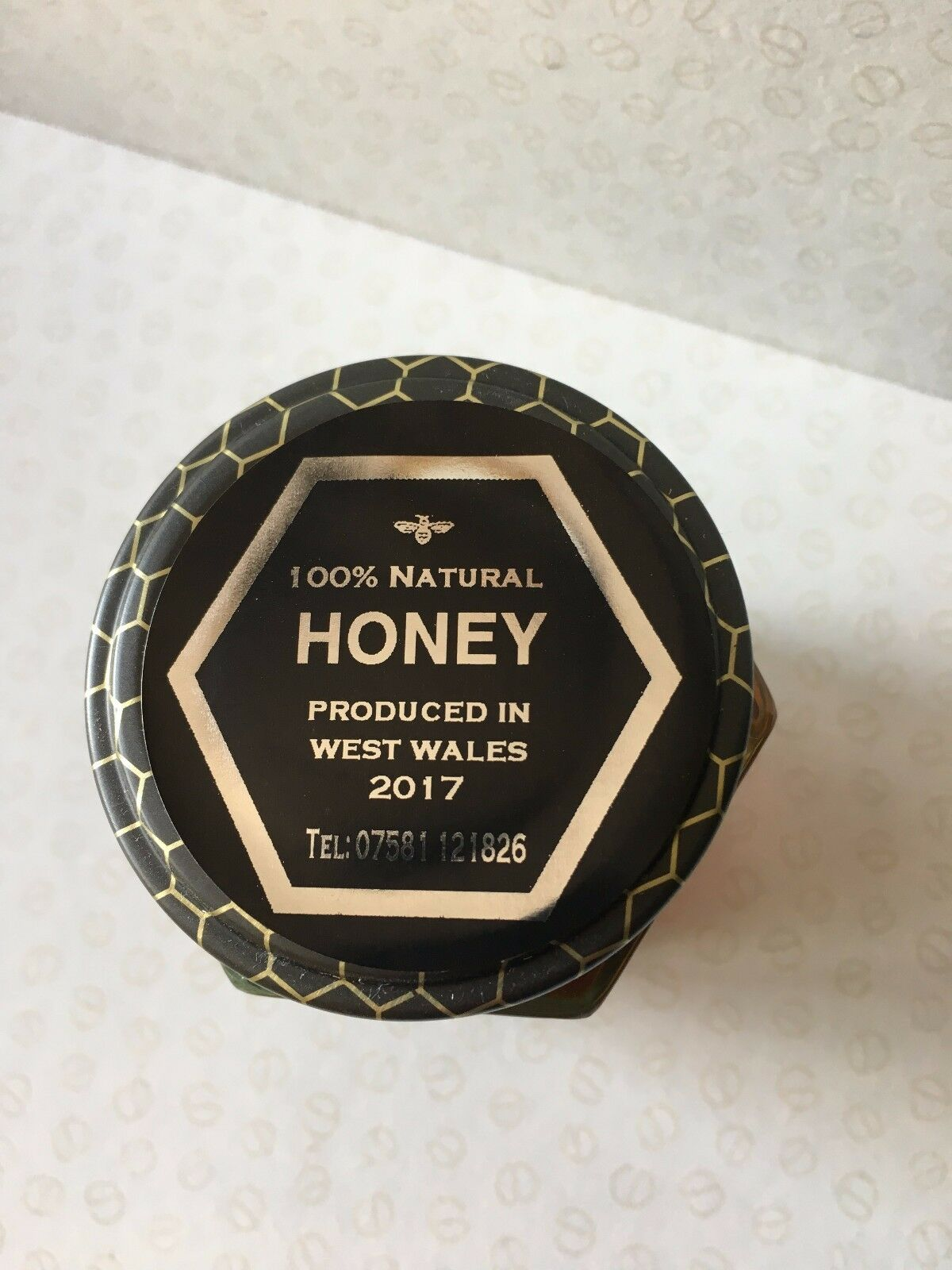 Details about honey jar labels metallic gold silver round labels personalised self adhesive