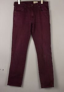 Wrangler Hommes Greensboro Slim Jeans Extensible Taille W34 L34 BDZ843